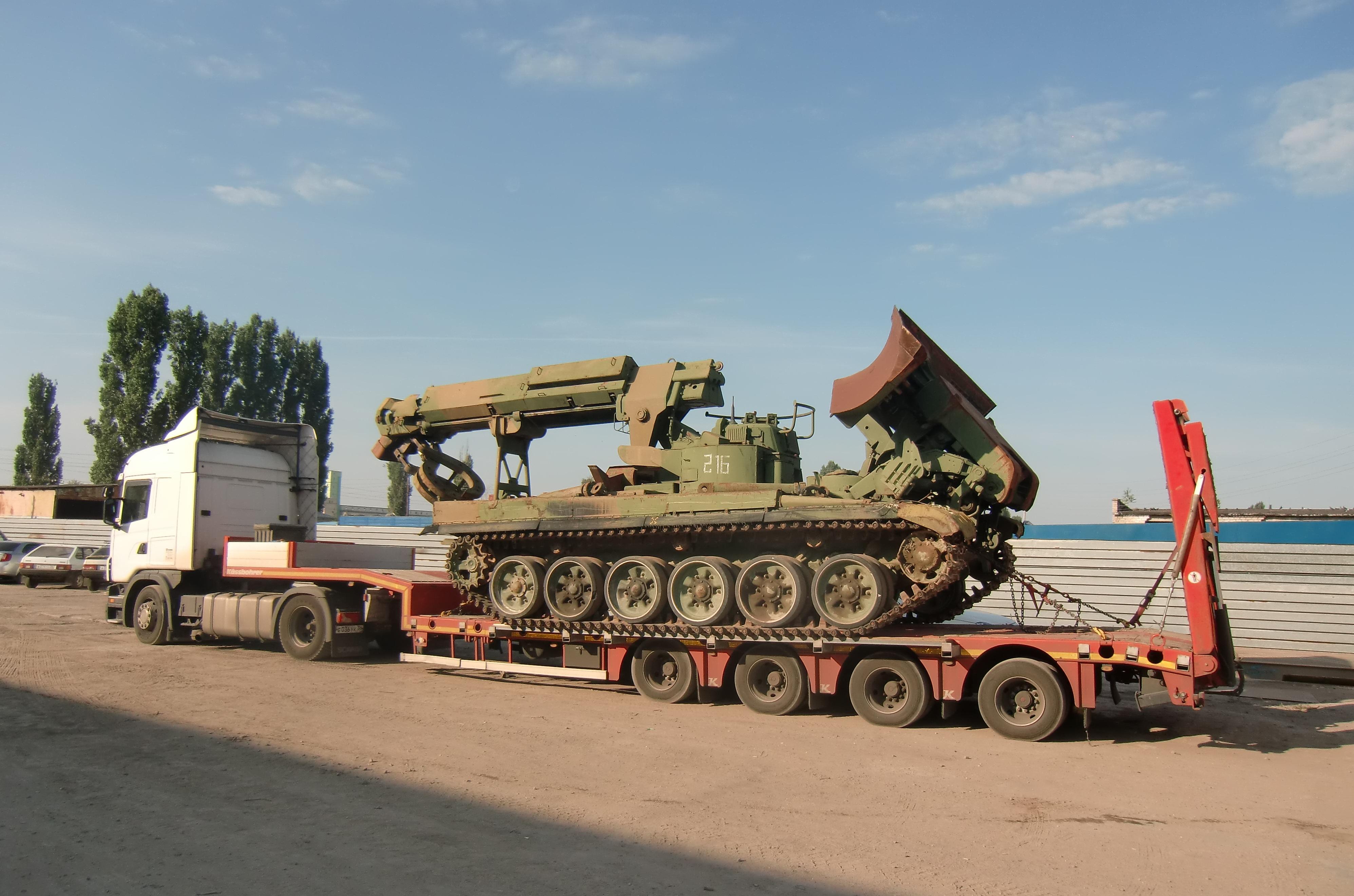 признание фото перевозки танка на трале смешно